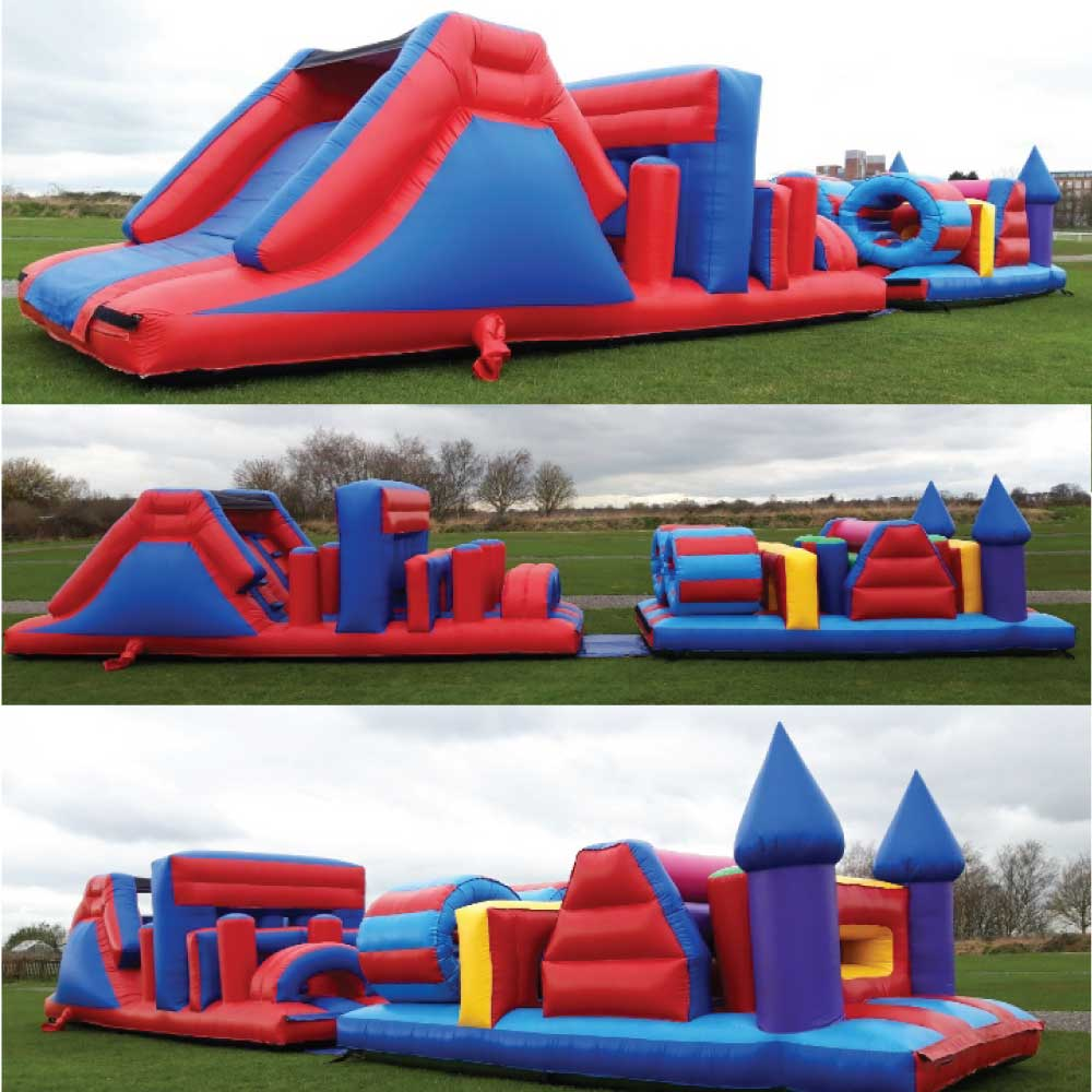 Obstacle Course Bouncy Hire York