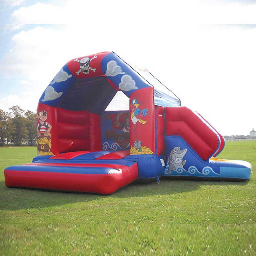 Pirates with Slide Bouncy Castle Hire York